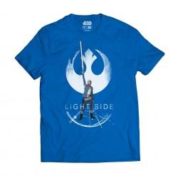 Camiseta Rey Light side azul, Star Wars