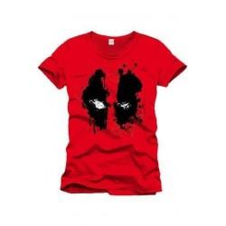 Camiseta Splash Head, Deadpool