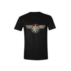 Camiseta Capitana Marvel emblem