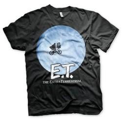 Camiseta Poster Elliot y E.T., el extraterrestre chico