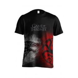 Camiseta Sigil Face Off, Juego de Tronos