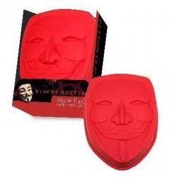 Molde Mascara V de Vendetta para horno
