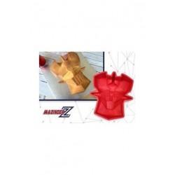 Mazinger, cabeza molde silicona repostería, Mazinger Z