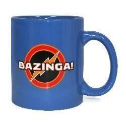 Taza Big Bang Theory BAZINGA.