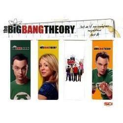 Puntos de libro, The Big Bang Theory, magnéticos