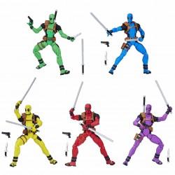 Pack 5 figuras Deadpool, Marvel