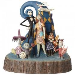 Figura Pesadilla Antes de Navidad, Disney Traditions by Jim Shore