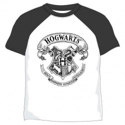 Camiseta doble color Hogwarts infantil, Harry Potter