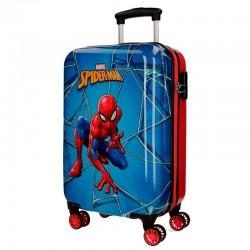 Maleta Trolley ABS, Spiderman, 55cm