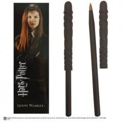 Ginny boli varita + punto de libro, Harry Potter