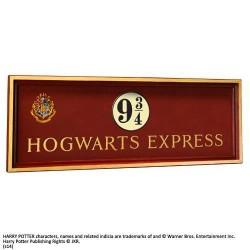 Placa Hogwarts Express, andén 9 3/4, Harry Potter