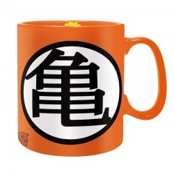 Taza Dragon Ball logo Kame cerámica