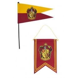 Bandera y estandarte Gryffindor, Harry Potter