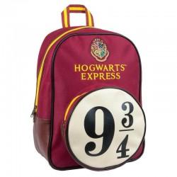 Mochila granate Hogwarts Express 9 3/4, Harry Potter