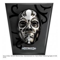 Réplica máscara Lucius Malfoy con expositor, Harry Potter