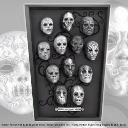 Réplicas máscaras de Mortifagos a escala, Harry Potter