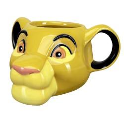 Taza 3D Simba, Rey León