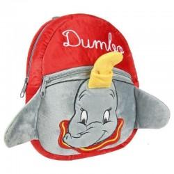 Mini mochila Dumbo terciopelo rojo, Disney