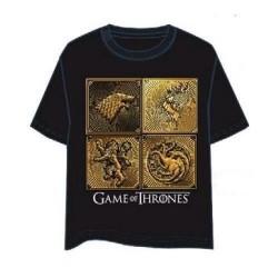 Camiseta Juego de Tronos, Dorado