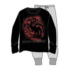 Pijama Juego de Tronos, Targaryen (adulto)