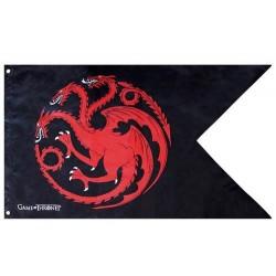 Bandera TARGARYEN Juego de Tronos 28X38