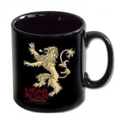 Taza Lannister Hear me roar, Juego de Tronos