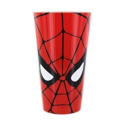 Vaso Spiderman cristal marvel