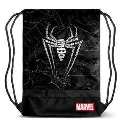 Mochila Saco Spiderman Marvel 48cm