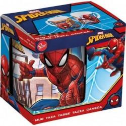 Taza Spiderman por los tejados