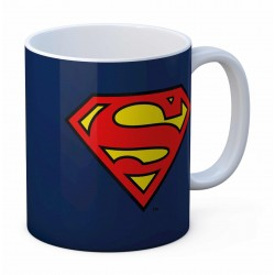 Superman taza cerámica logo