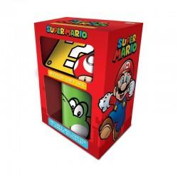 Pack Nntendo taza y llavero Super Mario