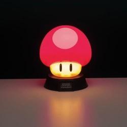 Lámpara 3D Super Seta, Super Mario
