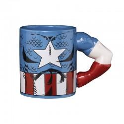 Taza Capitán América, Marvel