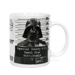 Taza Darth Vader fichado, Star Wars