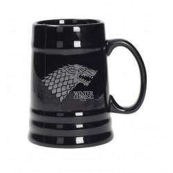Jarra Stark cerámica, Winter is coming, Juego de tronos