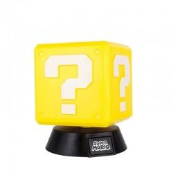 Lámpara cubo interrogante Mario Bross
