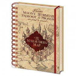 Cuaderno A5 Mapa del merodeador, Harry Potter
