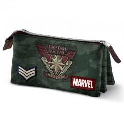 Portatodo Capitana Marvel, triple, Marvel