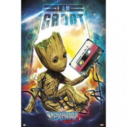 Póster Groot, Guardianes de la Galaxia