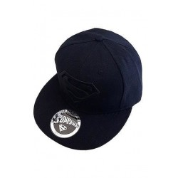 Gorra Béisbol Superman, Black Logo