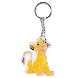 Llavero metálico Simba, El Rey León, Disney