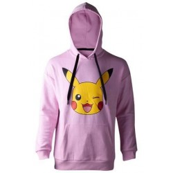 Sudadera Pikachu, capucha, chica, Pokémon