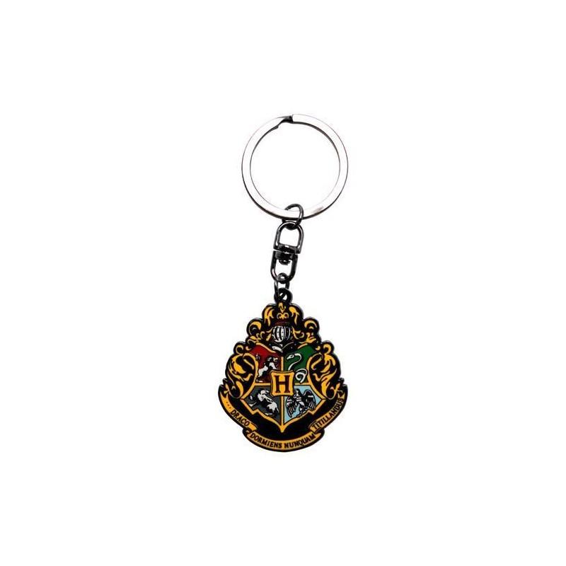 Llavero metálico escudo Hogwarts, Harry Potter