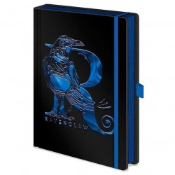 Libreta Ravenclaw metalizada, Harry Potter