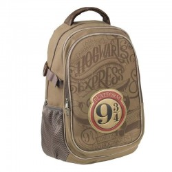 Mochila marrón Hogwarts Express 9 3/4, Harry Potter