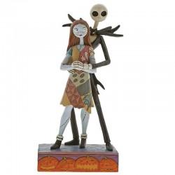 Figura Jack y Sally, Pesadilla antes Navidad (23cm)