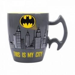 Taza Batman, relieve, DC Comics