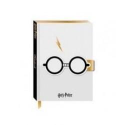 Libreta A5, Gafas y Rayo, Harry Potter