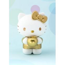 Figura Hello Kitty versión Dorado 8,5 cm