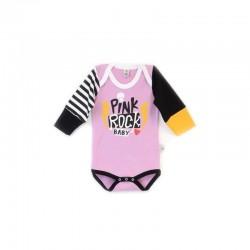 "Body ""Pink Rock Baby"""", manga larga"""